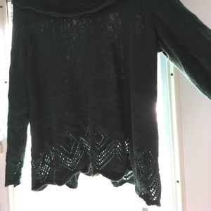 CJ Banks Sweaters - CJ Banks dark green sweater.